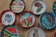 10 Hipster Recycled Beercap brooch pins africa adventure south-africa by MugaMugaSouthAfrica on Etsy Brooch Pin, South Africa, Unique Gifts, Recycling, Hipster, In This Moment, Adventure, Handmade, Etsy