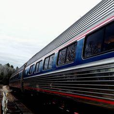 Vers l'infini... #train  #amtrak  #adirondacks  #newyork by perrineld