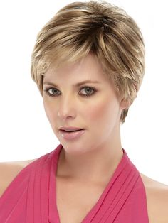 Lace Front Short Top Grade Quality Synthetic Blonde Straight Hair Wig