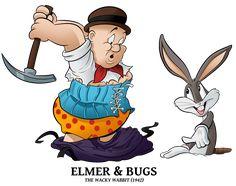 1942 - Elmer n Bugs by BoscoloAndrea on DeviantArt