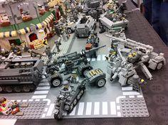Lego WW2 scene