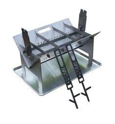 Poêle grill moyen et Rack étagère réglable pour four cuisinière BUSH