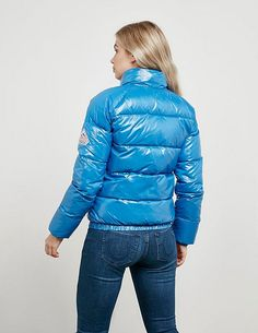 Pyrenex Vintage Mythic Jacket - available at Tessuti, the luxury designer retailer for Men, Women and Children. Nylons, Elegantes Outfit, Puffy Jacket, Winter Jackets Women, Cool Jackets, Jacket Style, Vintage Ladies, Bomber Jacket, Clothes