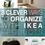 7 Clever Ways to Organize with Ikea