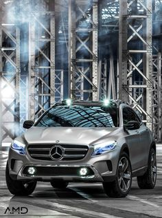 Mercedes did it yet again by releasing their MERCEDES BENZ GLA CONCEPT 2014, the manufacturer's newest crossover vehicle! Hot or not?
