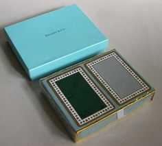 tiffany & co deck of cards
