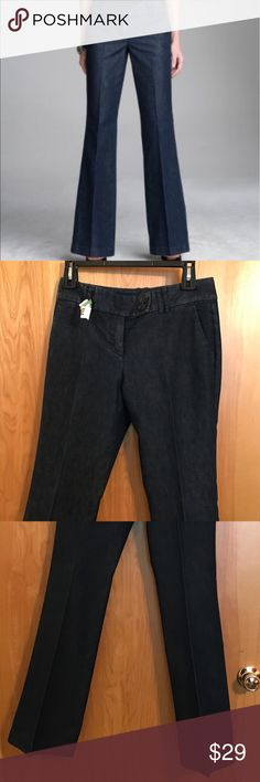 Express Editor Denim Trouser Pants - 2 Express Editor Denim Trouser Pants - 2 - Great Condition - Always Dry Cleaned - 32 Inch Inseam Express Jeans Flare & Wide Leg