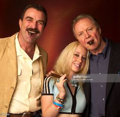 July 25, 2003 Tom Selleck, Skyler Shaye and Jon Voight during 8th Anniversary of the Grand Havana Room and the Premiere of James Orr's Documentaries on the Fuente Family in Beverly Hills, California, United States.