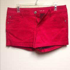shorts red shorts Celebrity Pink Shorts