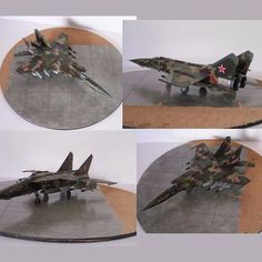 Mig 25 RB/RBT ICM 1:72 By: Martinus Lambertus Lourens From:Soviet Russian Scale Modelling #russia #russo #russian #mig #udk #usinadoskits #plastimodelismo #hobby #plastickit #war #guerra #batalha #escala #scale #art #arte