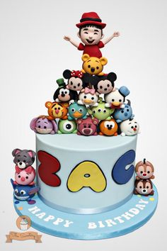 Tsum Tsum Cake by The Sweetery - by Diana