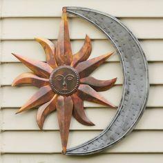 681c206b10600 Copper Patina Sun Face Extra Large Sunburst Metal Wall Art Hanging ...