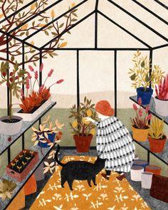 Illustration work by Lieke van der Vorst