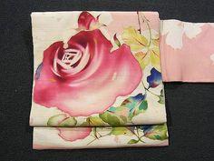 Vintage Rose Design Summer Obi!