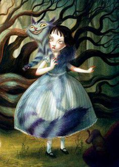 Benjamin Lacombe   ILLUSTRATION | Alice in Wonderland