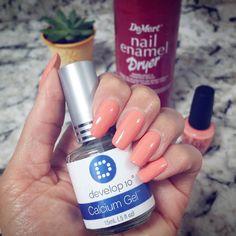 Ready to start the week with long strong nails!  @lashenny21nails  #Develop10 #nailtreatment #CalciumGel #DeMert  #NailEnamelDryer  #Mani @opi_products Shade: #CrawfishinForACompliment  #StayPolished #nailsoftheday #notd #nailsofinstagram #nailspiration #nailart  #summermani #succulents #manicure  #nailgram #nailpolishaddict #nailstagram #ilovenailpolish #instanails #naildesign #nails