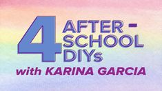 4 After-School DIYs With Karina Garcia #kids #parents #craft #DIY