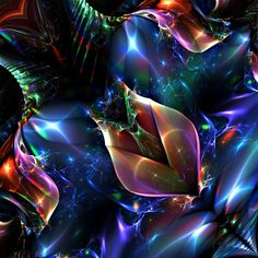 Untitled 3d fractal art Mandelbulb3d