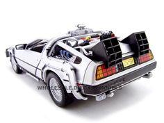 1985 Zurück in die Zukunft II De Lorean DMC 12 Time Machine 1:24 Welly 22441