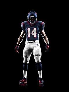 Nike's snagged the NFL's uniforms contract, and have tweaked the teams' threads. Here's a look at the new Houston Texans uniform.