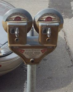 Manual Parking Meters