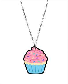 Yummy Cupcake necklace