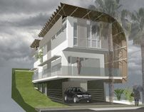 Resilient House on Behance Sustainable Energy, Affordable Housing, Energy Efficiency, Steel Frame, Pavilion, Coastal, Behance, Cottage, Houses