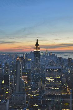 New York, Top of the Rock by Oliver Martin