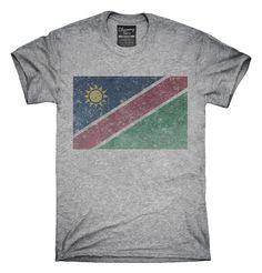 Retro Vintage Namibia Flag T-Shirts, Hoodies, Tank Tops