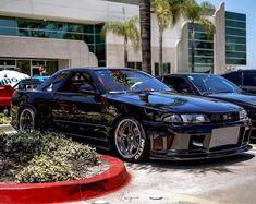 R33 Nissan Skyline Nissan Skyline Gtr R33, Nissan Gtr R34, R33 Gtr, R32 Skyline, Tuner Cars, Jdm Cars, Japanese Sports Cars, Japan Cars, Mitsubishi Lancer Evolution