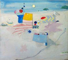 Edith Schloss, Untitled,1973, Oil on Canvas