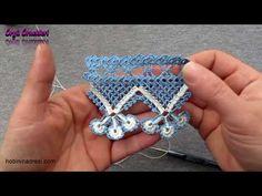 Crochet Border Patterns, Crochet Lace Edging, Crochet Art, Filet Crochet, Crochet Stitches, Beaded Necklace Patterns, Crochet Earrings, Viking Tattoo Design, Crochet Video