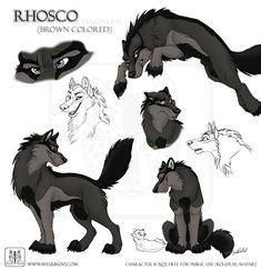 Sketches Rhosco by TaniDaReal on DeviantArt Wolf Character, Character Design Cartoon, Anime Wolf Drawing, Furry Drawing, Animal Sketches, Animal Drawings, Cartoon Drawings, Cute Drawings, Animation