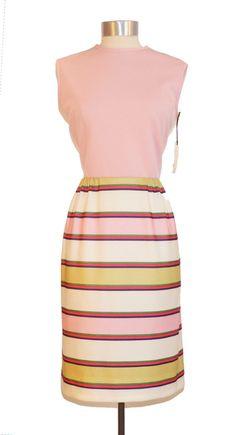 Vintage Pink Striped Sleeveless Dress item by MercantileRepublic, $15.00  #Vintagefashion #Vintage #Vintageonline #shopvintage #retrofashion #vintageforsale #instafashion #vintageshop #vintageclothing #vintagefinds #stylist #vintagesale #etsyvintage #cfda #vintagelife #nyfw #womensfashion #jwmodest #lookbook #vintagedresses #retrodress #currentlywearing