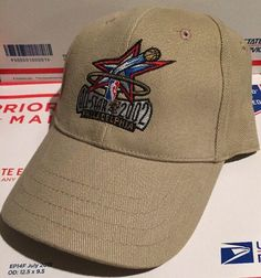 e493ac3a501b9 Vintage NBA All Star Game Philadelphia 2002 Mens Dad Hat