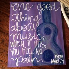 Bob Marley Acrylic Guitar Painting Canvas Purple Music Quote Art Custom Birthday Present Abstract by HudsonandStan on Etsy https://www.etsy.com/listing/237803737/bob-marley-acrylic-guitar-painting