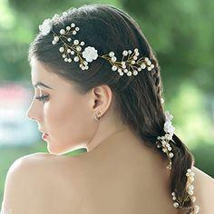 Flower Crown Headband, Boho, Amazon, Flowers, Jewelry, Jewlery, Riding Habit, Bijoux, Florals