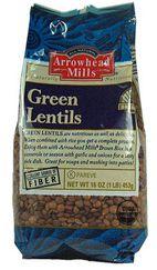 Arrowhead Mills Organic Green Lentils