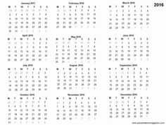 35 best 2016 calenders images on pinterest calendar cards and