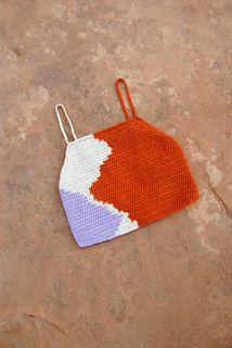 Crochet Beach Dress, Crochet Crop Top, Crochet Hooks, Knit Crochet, Crotchet, Crochet Clothes, Diy Clothes, Yarn Crafts, Sewing Crafts