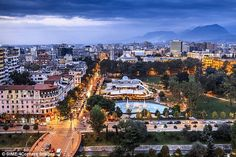 Bright lights, small city: Tirana is Albania's intriguing, somewhat hotch-potch capital
