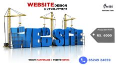 Web Design & Development - Create a business opportunity for your business by conveying your information through your website.