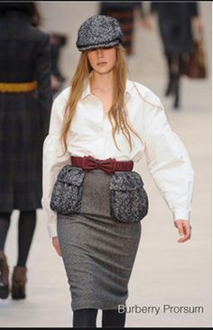 10. Burberry 2012 - the big pockets reminded me of the tie pockets, they are big and bold.