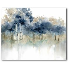 'Waters Edge III' Print on Wrapped Canvas
