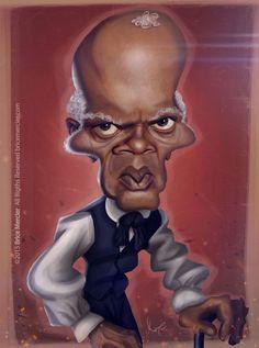 Samuel L. Jackson por Brice Mercier
