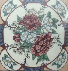 Golden Bee Oriental Peonies / Flowers  Counted Cross Stitch Kit #GoldenBee #Sampler