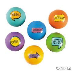 Good Character Stress Balls