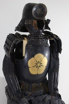 GOLD Family mark HOTOKE DOU GUSOKU YOROI (armor). HOTOKE DOU. Dou is. Dou is made of. With Hitsu (armor box) and Stand. Iron coated black lacquered and Gold Family mark. If you win the item by mistake and cancel it. | eBay!