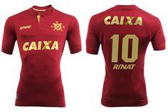 Quarta camisa grená do CRB 2016-2017 Rinat kit