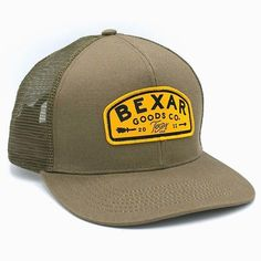 296d4adc505 6 Panel Trucker Caps in Forest Green for Bexar Goods ( bexargoods) -